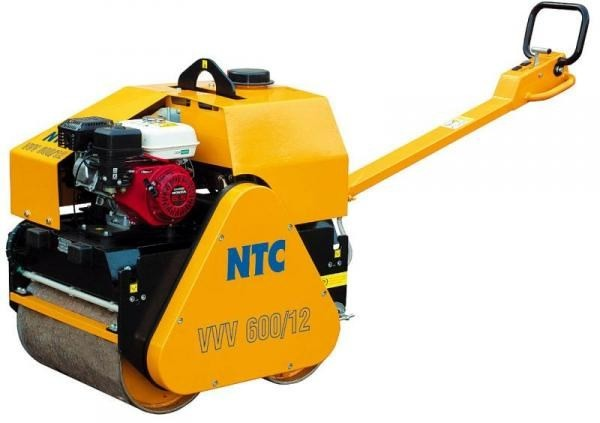 Ручной двухвальцовый виброкаток NTC VVV 600/12 в аренду фото