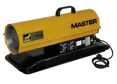 Тепловая пушка Master B 70 CED работает на дизельном топливе. Это очень надежный и весьма эффективный нагреватель, который преимущественно и
