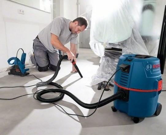 Инструкция по эксплуатации / работа с инструментом Пылесос Bosch GAS 25/35/50 L SFC Professional